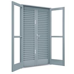 Porta Balcão de Abrir 215x120x14 Ref. 1012.0 - Lucasa