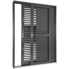 Porta-Balcão de Correr  217x160x16,5cm Esquerda - Ref: 69911730 - Sasazaki