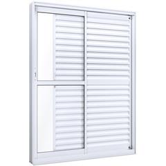 Porta Balcão de Correr Lateral 2,15x1,60x12(Axlxp) Lumini Ref.: 9152.2  - Ullian