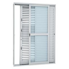 Porta-Balcão de Correr Multiflex 3 Folhas 217x160 Direita Ptk–2635001-8 - Sasazaki