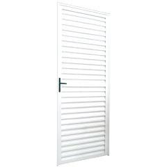 Porta Capri 210x86 Direita Branca - Ebel