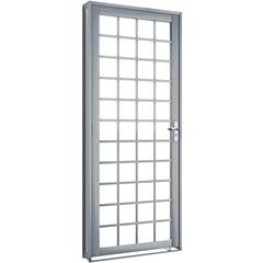 Porta de Abrir Quadrada Esquerda 215x85x6,5 Ref. 1297.1 - Lucasa