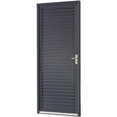 Porta de Abrir Veneziana Belfort 217 X 77 X 6,5 Cm  Esquerda - Ref: 66311775 - Sasazaki