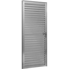 Porta de Alumínio Capri 210x86 Cm Direita Linha Ouro  - Ebel