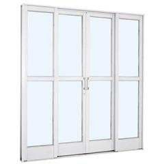 Porta de Correr Branca 217x200x12cm - Ref.: 26322006 - Sasazaki