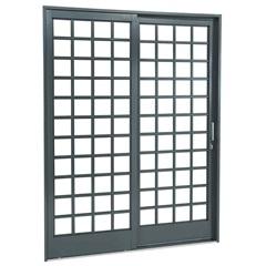 Porta de Correr Esquerda Belfort 217x160cm - Sasazaki