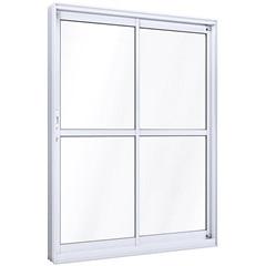 Porta de Correr Esquerda Ideale 215x160cm Branca - Lucasa