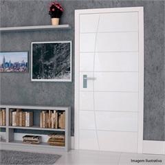 Porta em Mdf Pré Pintada Elegance 210x80cm Branca
