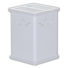 Porta Escova de Dentes 11x9cm Branco - Formacril