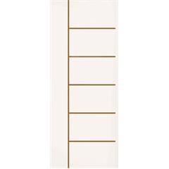 Porta Frisada Elegance Primer 210x70cm - Eucatex