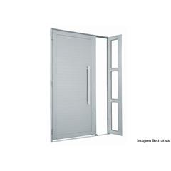 Porta Lambri  com Seteira E Puxador 2,16 X 1,30 Direita  Ref.: 76351724sa - Sasazaki