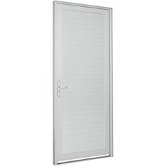 Porta Lambri Horizontal Direita Alumifort 216x98cm - Sasazaki