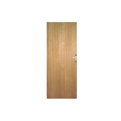 Porta Lisa Imbuia com Fechadura Estilo 82cm Esquerda - Alpimad