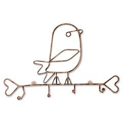 Porta Pano Aramado No Formato de Pássaro