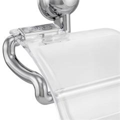 Porta Papel Higiênico Bonno Cristal - Stamplas