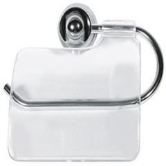 Porta Papel Higiênico Plus Cromado - Sicmol