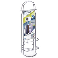 Porta Papel Higiênico Premium Cromado - Arthi