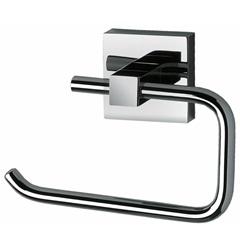 Porta Papel Higiênico Quadra Cromado - Perflex