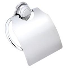 Porta Papel Sanitário com Tampa Cristal Ref: Cris14  - Moldenox