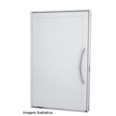Porta Pivotante Branca Abertura Direita  223,5 X 126,2 X 12cm  Ref.: 7244301-2  - Sasazaki