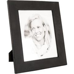 Porta Retrato em Couro 20 X 25 Cm Preto  - Toyland