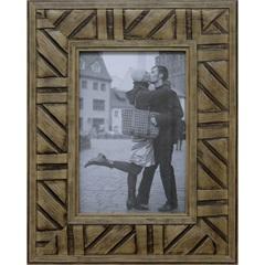 Porta-Retrato em Madeira Tribal Natural 10x15cm - Kapos