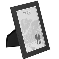 Porta - Retrato em Metal Preto 10x15cm Enjoy - GS