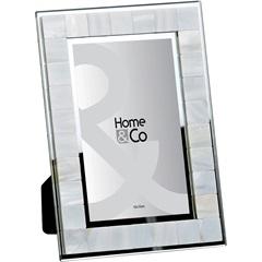Porta Retrato  em Vidro Metálico 10x15 Cm - GS