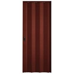 Porta Sanfonada com Fechadura 210 X 84 Cm Padrão Mogno - BCF