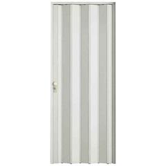 Porta Sanfonada com Fechadura Branca 210x84cm - BCF