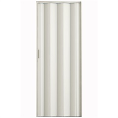 Porta Sanfonada com Puxador E Trinco 210x84cm Branca - Metropac