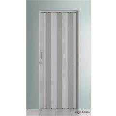 Porta Sanfonada com Trinco 210 X 108 Cm Cinza - BCF