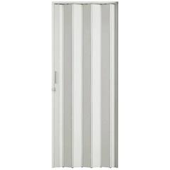 Porta Sanfonada com Trinco 210 X 84 Cm Branca - BCF