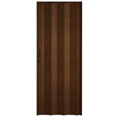 Porta Sanfonada com Trinco 210 X 84 Cm Imbuia - BCF