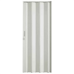 Porta Sanfonada com Trinco 210 X 96 Cm Branca - BCF
