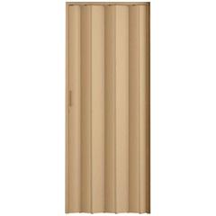 Porta Sanfonada com Trinco Bege 210x72cm - Metropac