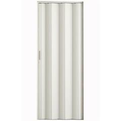 Porta Sanfonada com Trinco Branca 210x84cm - Metropac