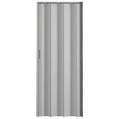 Porta Sanfonada com Trinco Cinza 2,10x84cm - BCF