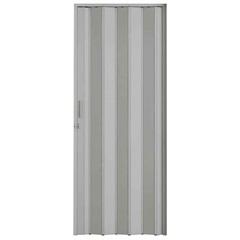 Porta Sanfonada com Trinco Cinza 210x60cm - BCF