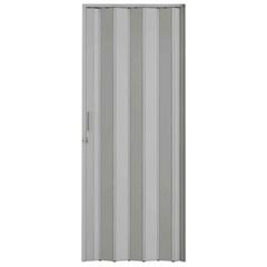 Porta Sanfonada com Trinco Cinza 210x84cm - BCF