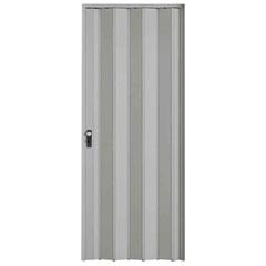 Porta Sanfonada com Trinco Cinza 210x96cm - BCF