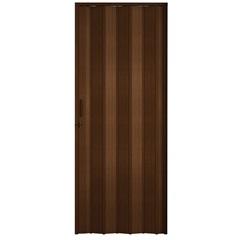 Porta Sanfonada com Trinco Padrão Imbuia 210x72cm - BCF