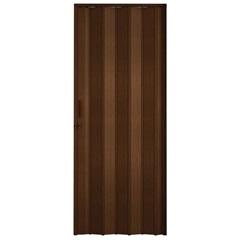 Porta Sanfonada Plast Porta com Puxador E Trinco 210x60cm Imbuia - BCF