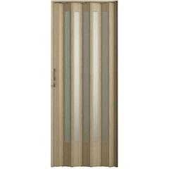 Porta Sanfonada Translúcida Carvalho Prata Plus  com Trinco 72 X 210 Ref. 04402-14    - BCF