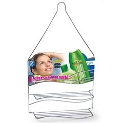 Porta Shampoo Duplo para Pendurar Ref. 1565c - Arthi