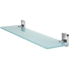Porta Shampoo Simples Cromado Perfetto - Forusi