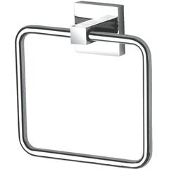 Porta-Toalha de Rosto Quadra Cromado  - Perflex