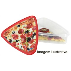 Pote Triangular para Pizza Ref: 5604  - Plasútil