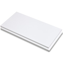 Prateleira de Aglomerado Branco 30x120cm  - Fico Ferragens
