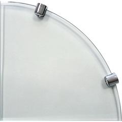 Prateleira de Vidro 8 Mm Canto 20 X 20 Cm - Bemfixa